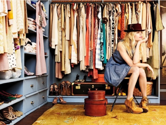vestidores Sevilla o simples armarios.